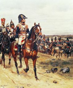 General Of The First Empire- by Edouard Detaille