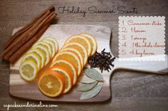 Simple Natural Ways to Add the Scent of the Holidays to Your Home | Cupcakes and Crinoline