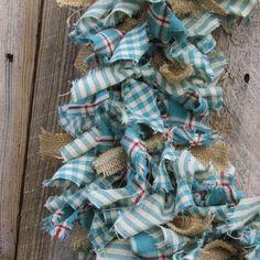 Rag Wreath tutorial