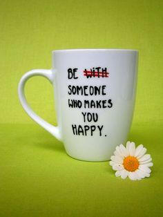 Tasse mit Spruch   von hochdietassen via dawanda.com