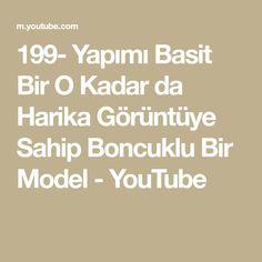 199- Yapımı Basit Bir O Kadar da Harika Görüntüye Sahip Boncuklu Bir Model - YouTube