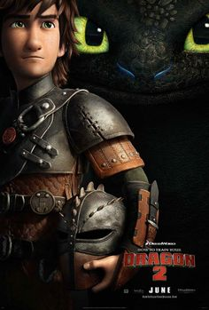 It's the FIRST poster for How to Train Your Dragon 2…awesome