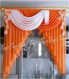 ARTE Y ARTESANIAS*: CORTINAS, ALCOLCHADOS Y ALGUN ADORNITO. Art Deco Curtains, Living Room Decor Curtains, Curtains And Draperies, Elegant Curtains, Gold Curtains, Ikea Curtains, Hanging Curtains, Kitchen Curtains, Window Curtains