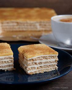 Nastoletnie Wypiekanie: Ciasto śmietankowo-kawowe (bez pieczenia)