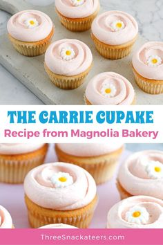 To celebrate the return of Sex And The City to HBO we are sharing with you the recipe for the Carrie Cupcake from Magnolia Bakery. Cookie Dough Recipes, Fudge Recipes, Cupcake Recipes, Snack Recipes, Dessert Recipes, Candy Recipes, Fruit Recipes, Cheesecake Recipes, Easy Snacks
