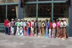Rodeo Royalty - cowgirls of the National Western Stock Show, including Miss Colorado 2013, Miss Rodeo America 2013 and Miss North Dakota 2013.