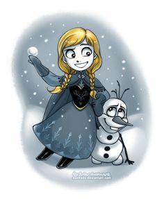 Continuation Winter Anna (from the Frozen) Previous works with Winter Disney's Princesses:daekazu.deviantart.com/gallery… My Tumblr >>> daekazu.tumblr.com/ My Facebook Account...