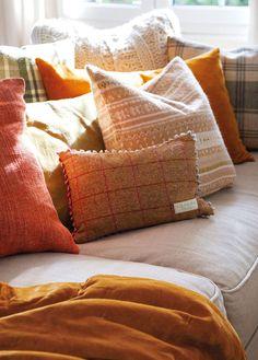 Как оформить дом к осени: пример уютной гостиной   Пуфик - блог о дизайне интерьера