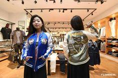 Symbol of Shibuya! SHIBUYA Sukajan (Jacket) @ Vanquish Shinsaibashi BIGSTEP shop  #japankuru#cooljapan#japan#shibuya#vanquish#shopping#fashion#hachiko#jr #tokyo#100tokyo#friends#amazing#nofiler#girls#style