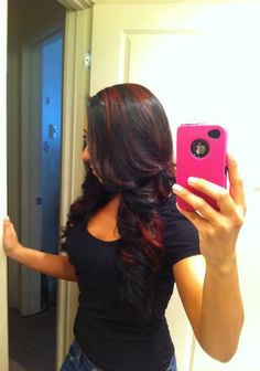 Next hair color?? Maybe a lighter brown than this...