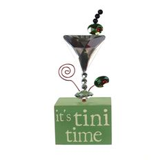 Message Block Picture/Place Card Holder-Tini Time