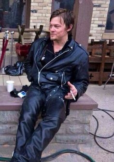 Leather Reedus