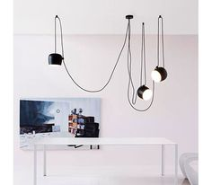 With their playful, minimalist design, the AIM Pendant creates a vivacious…