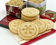 108 Best Stamped Cookies Images On Pinterest