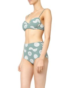 Blue Polka Tiki Bikini | Marysia Swim | Avenue32