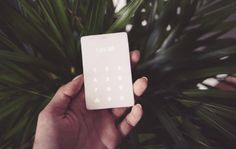 If you've ever wanted to go on a digital-free walk, you now can with the credit card-sized Light Phone. It uses call forwarding to work with your current phone number. Old School Phone, Minimalist Phone, Call Forwarding, Real Phone, Detox Challenge, Digital Detox, Mobile Design, Holiday Gift Guide, Holiday Gifts