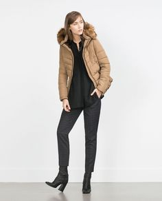 Image 1 of ANORAK WITH DETACHABLE HOOD from Zara