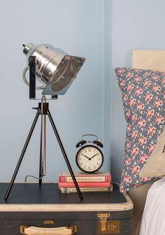 Lights, Glam-era, Action! Lamp | Mod Retro Vintage Decor Accessories | ModCloth.com $75