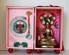 Feng Shui Love Altar by Chaska Peacock