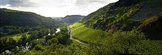 Blick vom Gut Hermannsberg auf die Lage Felsenberg