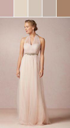 Bridesmaid Dress -- Annabelle Dress Designed By Anthropologie via Stylyze