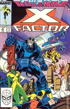 X-Factor Series) 25 Marvel Comic books modern age cover X-men Mutants Marvel Comics, Marvel E Dc, Marvel Comic Books, Marvel Characters, Comic Books Art, Marvel Universe, Book Art, Marvel Villains, Star Trek