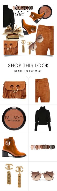 """""""Work Hard, Play Hard: Finals Season"""" by kari-c ❤ liked on Polyvore featuring J.W. Anderson, Balmain, Creatures of the Wind, Jeffrey Campbell, Chloé and finals"""