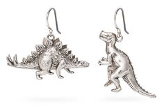 This set of dinosaur earrings inspired by the beginning of the pilot for Firefly lets you recreate our memorable introduction to Wash. Just be sure to take these earrings off before recreating that scene. Don't let dinosaurs fight across your face.