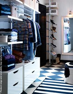 More ikea stolmen ideas for the spare room walk in closet for Ikea greenville sc