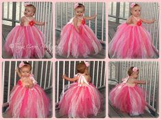 Peach and Pink Lace Vintage Style Tutu Dress 2T to 4T by lovebug11