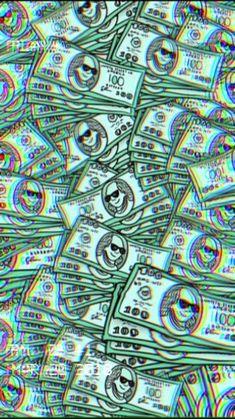 ideas for wall paper iphone trippy money Money Wallpaper Iphone, Screen Wallpaper, Wallpaper Quotes, Wallpaper Backgrounds, Neon Wallpaper, Dope Wallpapers, Aesthetic Wallpapers, Hypebeast Wallpaper, Vaporwave