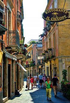 Ristorante Il Ciclope, Taormina, Sicily