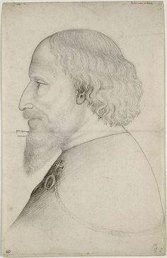 Pisanello - Emperor Sigismund (Drawing, ~1432) - by petrus.agricola, via Flickr
