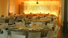 Cena de gala en un museo / Gala dinner in a museum By Sarova Catering