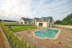 5 bedroom detached contempory house. Views overlooking the surrounding countryside. Located in St Ouen, Jersey