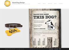 Good Dog Design #404 #error #webdesign