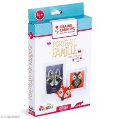 Compra nuestros productos a precios mini Kit Cuentas para planchar - Tarjetas animales retrato de familia - Entrega rápida, gratuita a partir de 89 € !