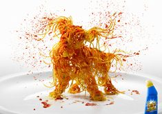 Fight Ultimate Stain Remover: Spaghetti