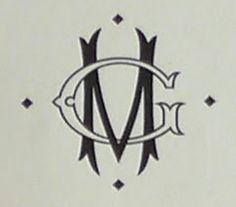 La Belle Fete: Another monogram...