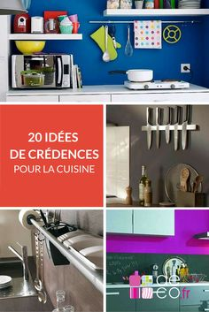 20 idées de crédences pour aménager votre cuisine : http://www.deco.fr/photos/diaporama-10-idees-de-credences-pour-amenager-votre-cuisine-d_66