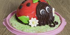 Top 10 cake ideas for kids ~8~Ladybug Cake
