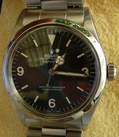 Rolex Explorer, referenza 1016, anno 1972.