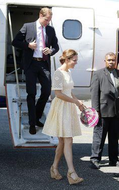 Kate Middleton Wearing Wedges   POPSUGAR Fashion