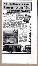 1935 Print Ad Covered Wagon Travel Trailers Made in Detroit,MI Print Advertising, Print Ads, Covered Wagon, Travel Trailers, Detroit, Club, Camper Trailers, Single Wide, Motorhome