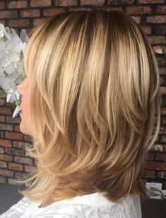 Layered Hairstyles for Shoulder Length Hair 2018