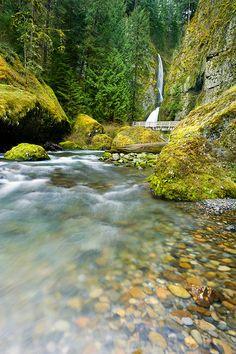 Wahclella Falls, Columbia River Gorge National Scenic Area, Oregon. Photo: Ireena Eleonora Worthy, via Flickr
