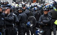 Riot vans and a strong police presence were deployed in London today amid demonstrations ahead of the conference. London Live, London Today, London Protest, Riot Police, Blues Brothers, Social Awareness, Power To The People, Law And Order, Great British