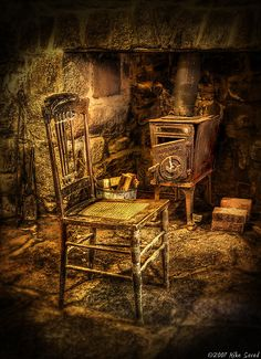 mike savad paintings | Mike Savad › Portfolio › The chair and stove