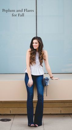 Peplum and Flares for Fall | By, Hilary Rose