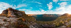 The dizzying highs and lows of the spectacular Butterbox Point in the NSW Blue Mountains h...